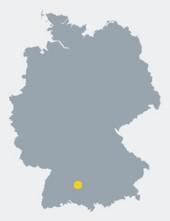 Lage Hettingens innerhalb von Deutschland